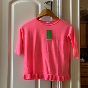 Lilly Pulitzer girls quarter sleeved top!!!